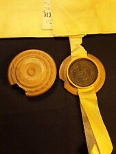 1710 - Large Antique Vellum with the Wax Seal of Alsace