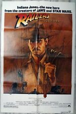 Raiders of the Lost Ark Original One Sheet Movie Poster 1981 27x41 Very Good