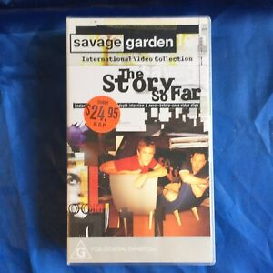 Savage Garden PAL VHS Video Tape The Story So Far Video Collection + Interviews