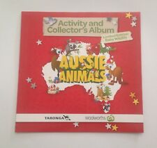 1 FULL SET OF WOOLWORTHS AUSSIE ANIMALS (36 BABY WILDLIFE) COLLECTOR CARDS + ALB