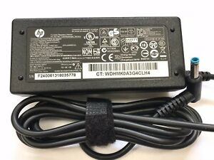 HP 65W AC Adapter Charger For HP PPP009C 710412-001 714657-001 (4.5mm Blue tip)