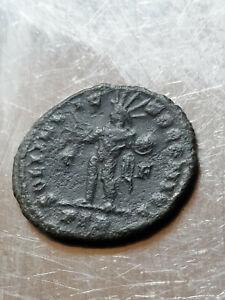 AE Follis Constantine I Soli Invicto T-F PLN - London Mint  310AD
