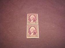 US Stamp Scott# 721 Washington  MNH  Line Pair 1932 C217