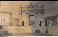 B7/ Russia? Foreign Real Photo RPPC Postcard c1910 Memorial Arch