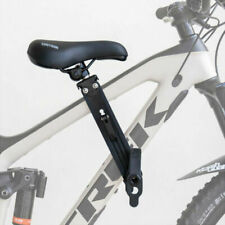 Shotgun Front Kids Bike Seat for Mountain Bikes - Black (KRS-SB)