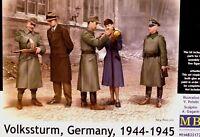 Masterbox 1:35 Volkssturm, Germany, 1944-1945 WWII Figures Model Kit