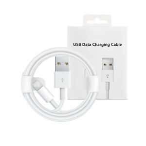 Genuine Core iPhone Charger for iPhone 12 11 X 6 5 7 8 iPad USB Data Lead Cable