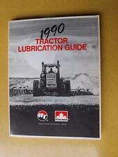 TRACTOR LUBRICATION GUIDE BOOK 1990 PETRO CANADA FARM EQUIPMENT MASSEY IH FIAT