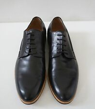 e563d5b34daa NWOB Authentic DRIES VAN NOTEN Black Leather OXFORD Shoes 40 US-7
