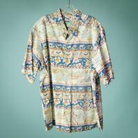 Reyn Spooner Size XXL 2XL Shirt Tropical Hawaiian Aloha Button Down Casual Beach
