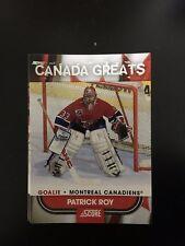 2010 PANINI SCORE CANADA GREATS NHL 50 CARD LOT CROSBY ROY LEMIEUX YZERMAN D116