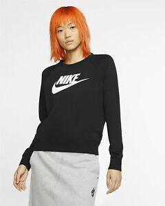 Nike Ladies Black Sweatshirt