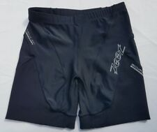 Womens Zoot Biowrap Shorts Size Small Muscle Support Black Zone