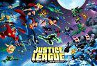 Alex Arizmendi Justice League Unlimited print DC Comics Batman RARE