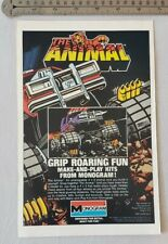 The Animal Remote Control Monster Truck RARE Print Advertisement