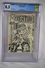 Rare Early Dave Stevens Cover 1974/1977 The Creature #1 CGC 8.5 Comic Batman