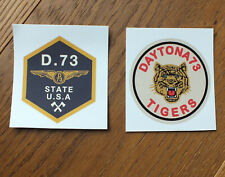 Daytona Bike Tigers 2 X Sticker Aufkleber Adesivo (A018)