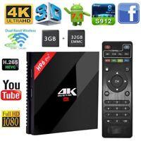 H96 PRO+ S912 2.4Ghz Octa core 3Gb+32GB HD Android 7.1 WIFI BT HDMI 4KX2K TV BOX