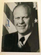 GERALD FORD - 38. Präsident USA - original Autogramm Autograph