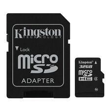 Kingston microSD 32 Go High Capacity Class 4 + adaptateur SD