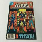 TALES OF THE NEW TEEN TITANS #44 DC Copper Age Key 1st NIGHTWING APPEARANCE #C