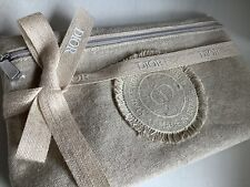 Dior Canvas Pouch Clutch Make Up Bag Purse Accessory NEW Spring Summer 2021 VIP