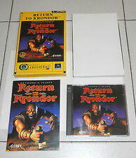 Gioco Pc Cd RETURN TO KRONDOR PERFETTO ITA 1998 Cd Rom Classic collection 9 GDR
