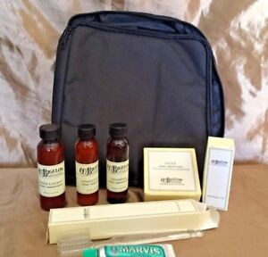 NEW! C.O.Bigelow Apothecaries Lavender/Peppermint Full Travel Kit w/Travel Bag