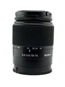 SONY SAL-1870 A-Mount DT 18-70mm F3.5-5.6 Lens