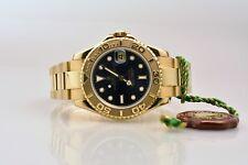 Rolex Yacht-Master 68628 neuwertig 18k Gelbgold Box & Papiere