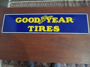 Goodyear Tires New Porcelain Enamel Sign