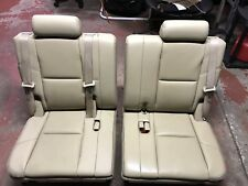 Genuine Oem General Motors Third Row Seats For Chevrolet Tahoe. 200914 Tahoe Yukon Escalade Tan Cashmere Leather 3rd Third Row Rear Seats Seat. Seat. Tahoe Third Row Seat Diagrams At Scoala.co