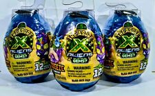 Treasure X Aliens Ooze Egg Blind Mystery Find Real Gems NEW 3 EGGS Lot