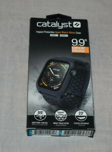 Catalyst Series 4 & 5 Impact Protection Apple Watch 44 MM Case Navy Blue New
