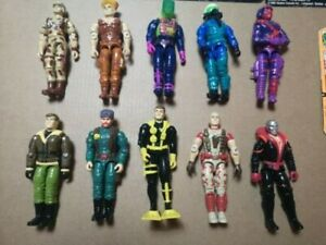 G.I. Joe ARAH 1992-3 Lot of 10 - Duke, Destro, Big Bear, Ace and more + 4 cards