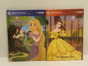 LeapFrog TAG & LeapReader Disney Beauty and the Beast Book plus Tangled