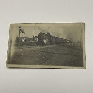 Vintage Postcard - Real Photo Postcard - Train - AZO.