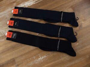 DORE DORE Tripoli 3 pairs anti-perspiration knee length socks - Size 44-45 - NWT
