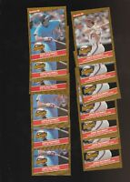 1986 Donruss The Highlights Mike Schmidt Phillies Lot of 13