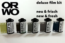 C0RE Film bundle • ORWO deluxe • 35mm • b/w negative reversal infrared • FRESH