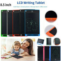 "8.5""/12"" Colorful LCD Tablet Drawing Writing Board Pad Kids Notepad eWriter"