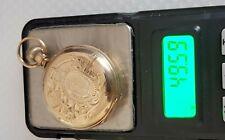 Solid Gold Runs 50 grams #45-11 Antique 6S Elgin Pocket Watch 14K