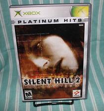Silent Hill 2 Restless Dreams Xbox COMPLETE CIB Konami Survival Horror Free Ship