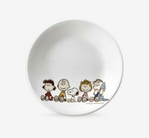 [SNOOPY FRIENDS x CORELLE] Small  Dinner plate dish / 17.1cm