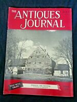 Antiques Journal 1951 Ephrata Vallerysthal Animal Dishes Alice Allen Wax Doll