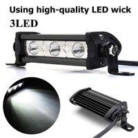 "New 4"" 9W 3 LED 6000K Spot Work Light Bar Lamp Suv Boat Offroad Truck ATV Motor"