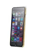 Crystal Clear iPhone 6 (4.7) Case For Apple - Clear Back with Gold Edge *New*