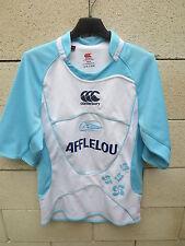 Maillot rugby AVIRON BAYONNAIS Bayonne shirt CANTERBURY Afflelou S