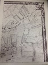 Large Print of a London Map First Published in 1746. The Essex Road H1