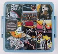 Disney Store Star Wars The Force Awakens Stackable Food Container New Lunchbox
